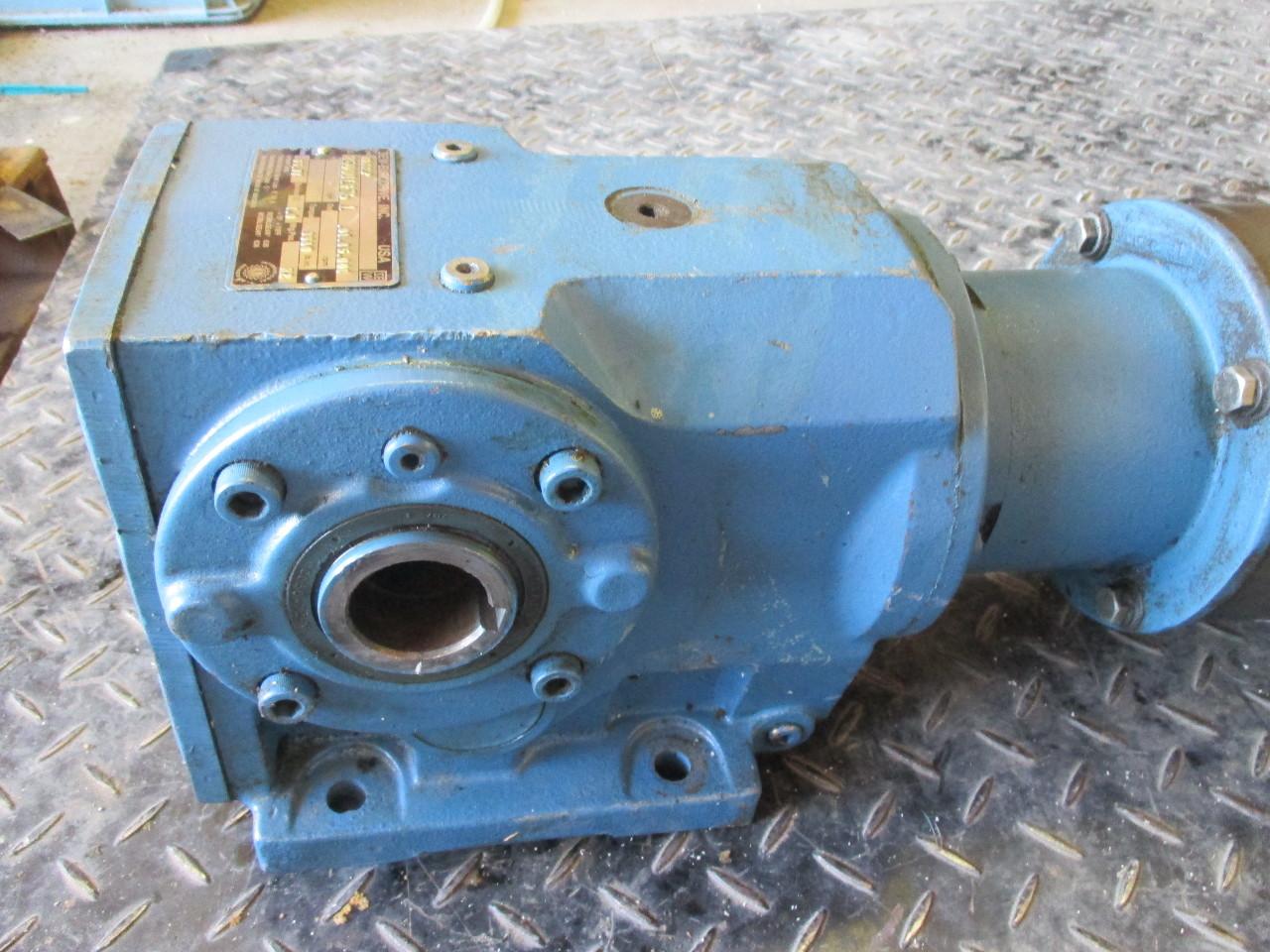 Baldor Ac Motor Vm3554 1 5hp Sew Eurodrive Ka66lp Speed