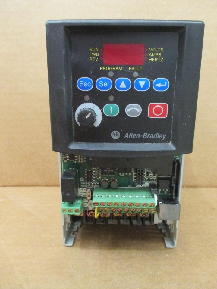 Dis Allen Bradley B D P N Powerflex Ac Drive Hp