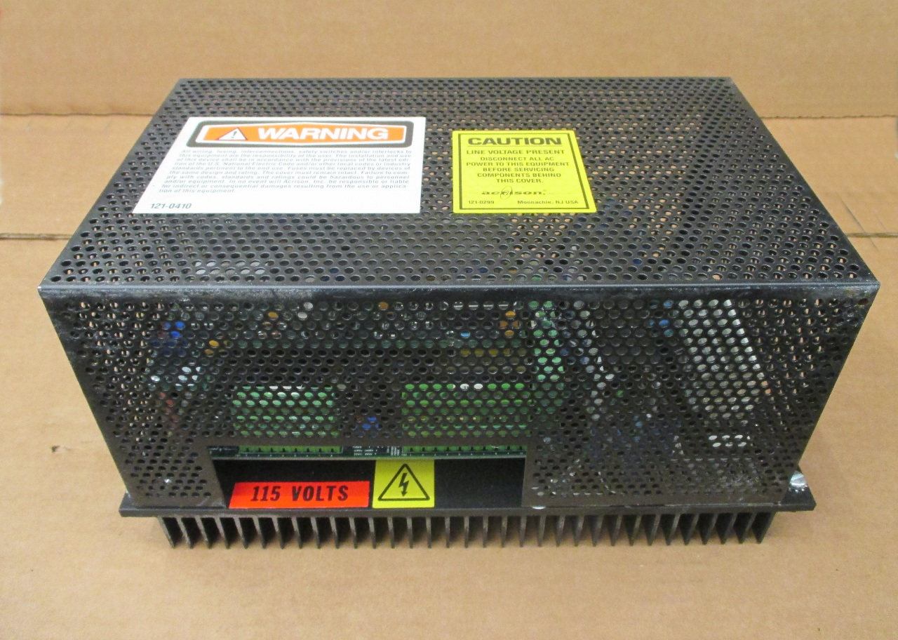 Acrison Model 060 Variable Speed Dc Motor Controller Daves Industrial Surplus Llc