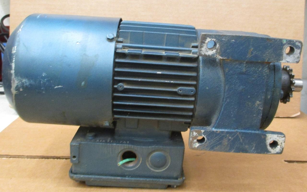 Sew Eurodrive 33hp 1720 274 Rpm Gear Motor