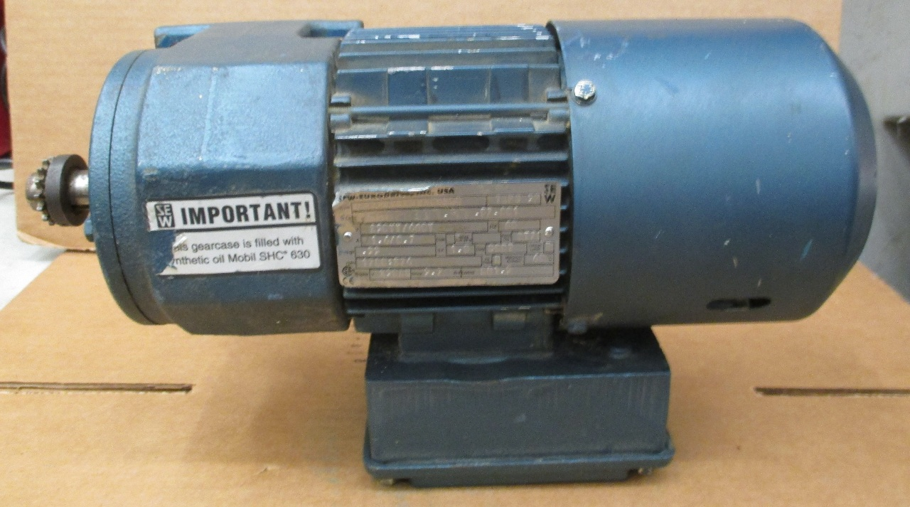 Sew eurodrive 33hp 1720 274 rpm gear motor for Sew motors and drives