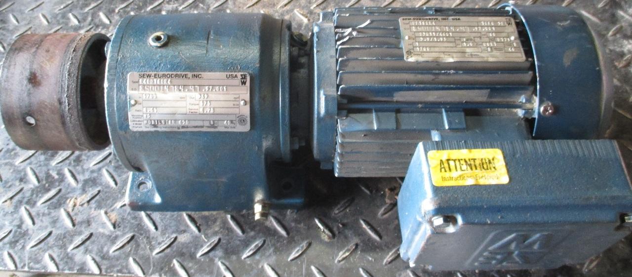 Sew Eurodrive Gear Motor Drive Type Dft80n4 R400t80n4