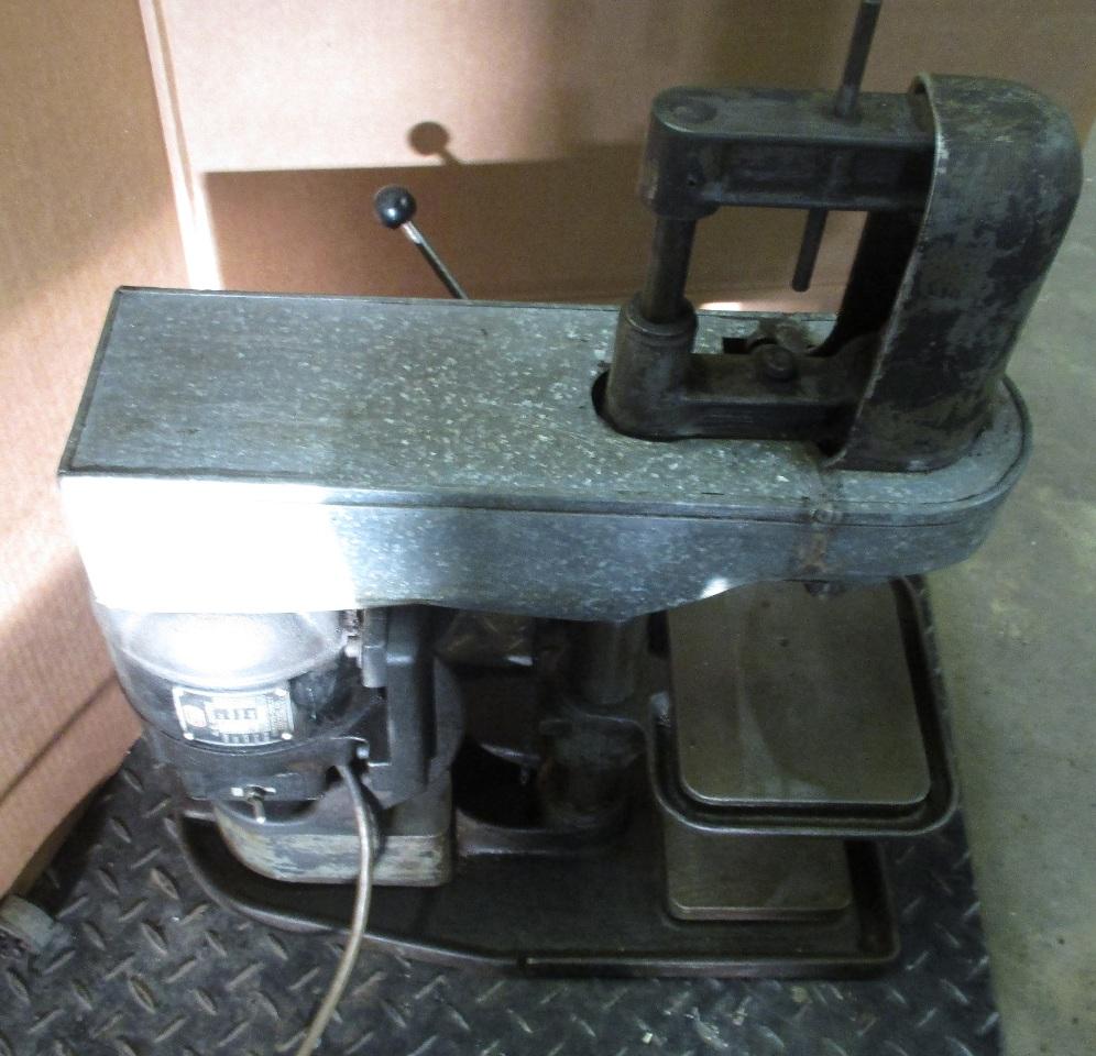 Lancelier No 41 Drill Press On Coolant Table W Kingston