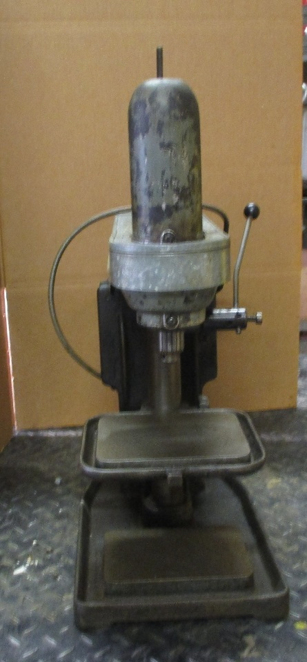 Lancelier No 41 Drill Press On Coolant Table W Kingston
