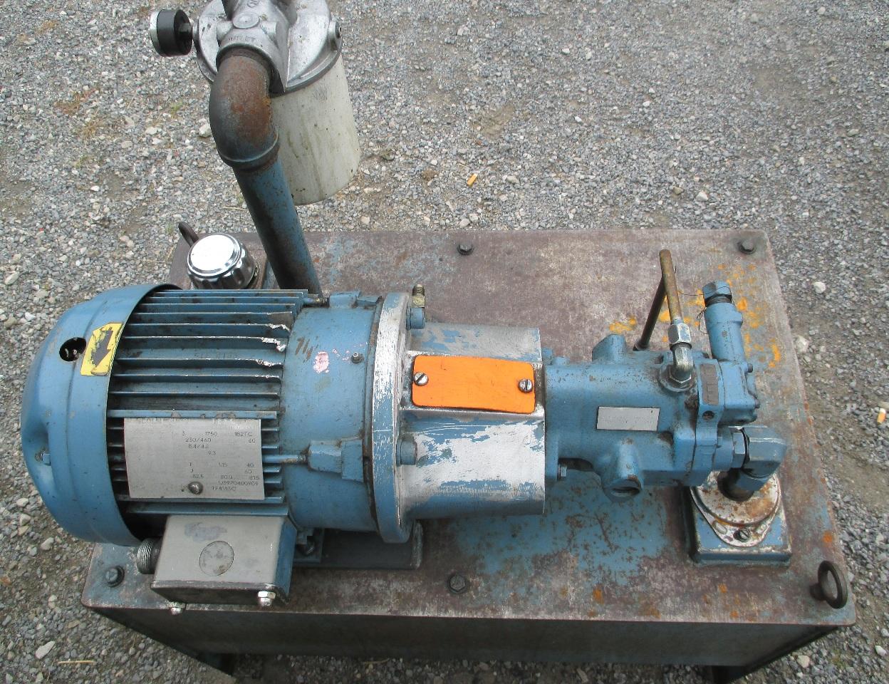 Cosyne Systems Hydraulic Unit W Lincoln Ac Motor 3 Hp