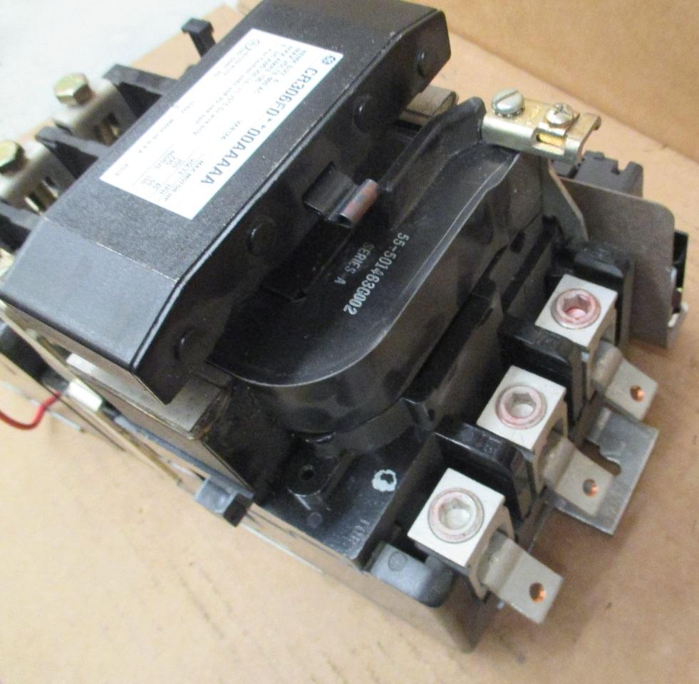 General Electric Size 4 Cr306f000aaaaa Motor Starter 135a