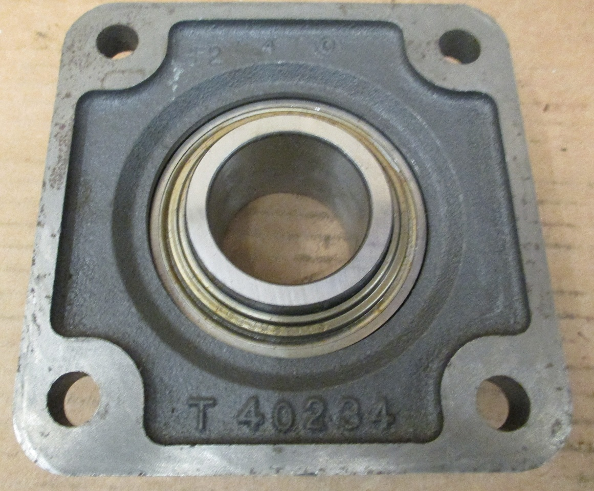3 4 Square Bore Bearings : Fafnir tcj flange mount bearing unit timken ebay