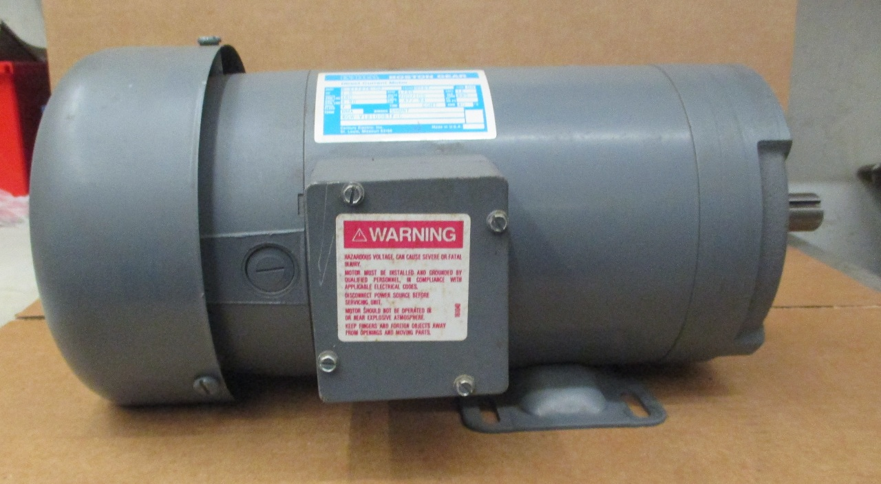 Boston Gear Dc Motor 1 Hp Rpm 1750 Daves Industrial