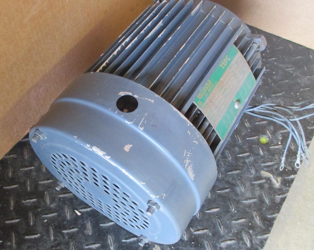 Lincoln ac motor 1 5 hp rpm 855 code t 3481 ebay for Rpm motors lincoln ne