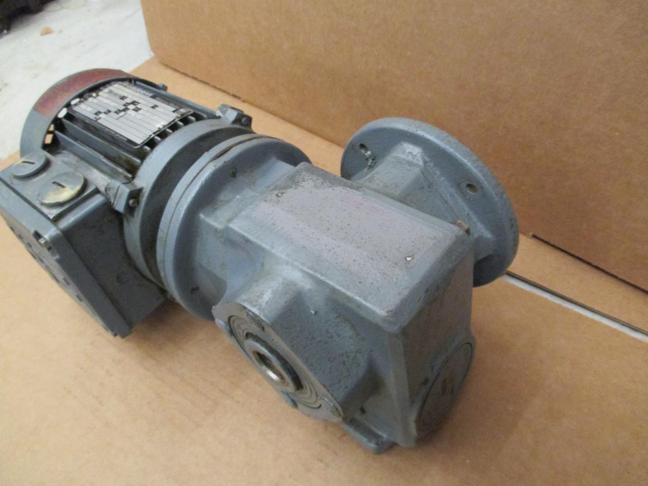 Sew eurodrive gear reducer motor type saf32 d63 n4 for Sew eurodrive gear motor