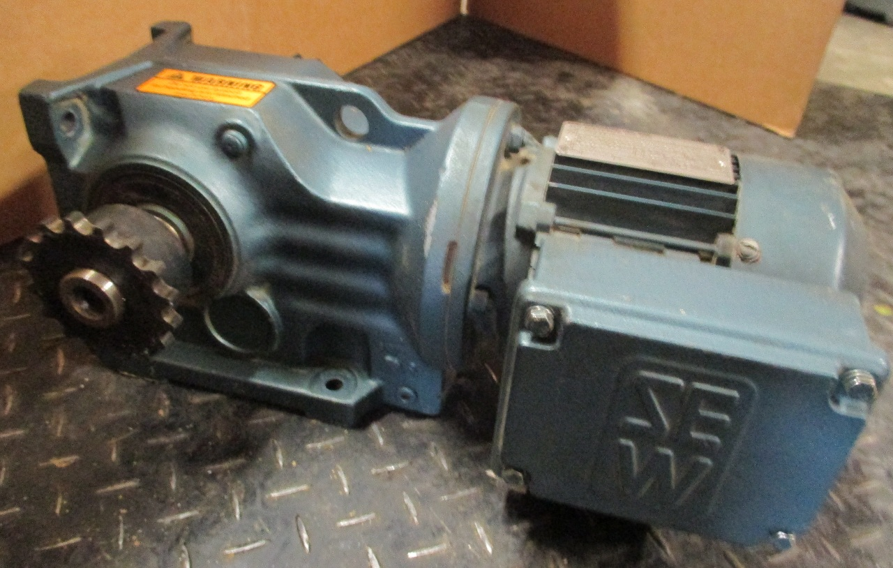 Sew eurodrive dft71d6 gear motor 33hp 1100 rpm 230 460v for Sew eurodrive gear motor