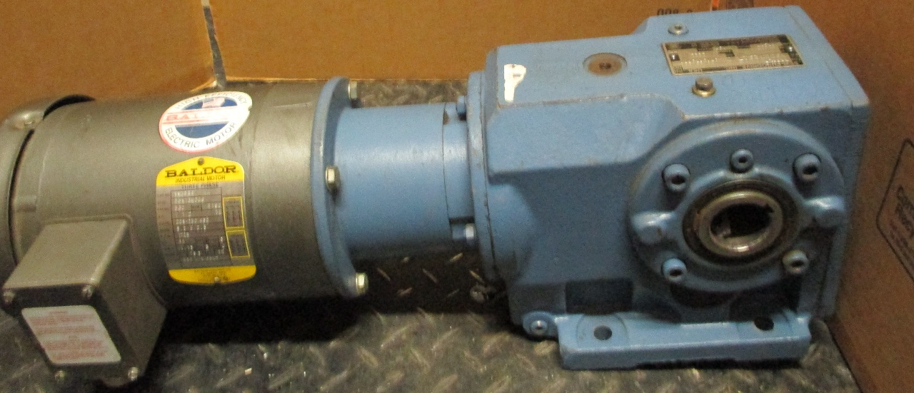 Baldor gear motor mod vm3554 w sew eurodrive for Baldor industrial motor parts