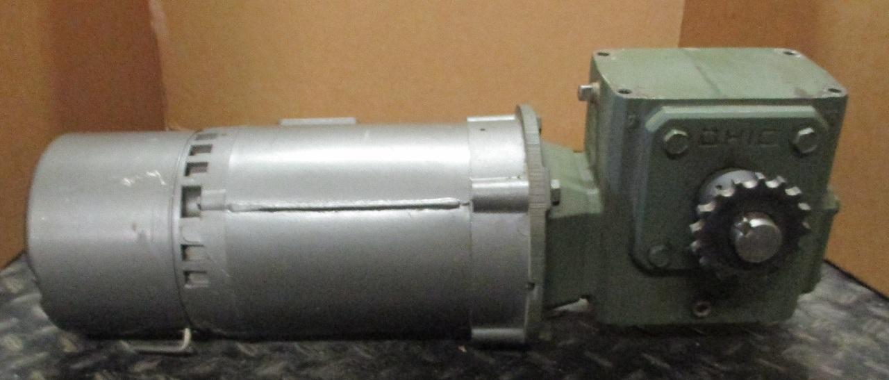 Baldor Gear Motor Kbm3454 W Ohio Gear Reducer 132206mq56