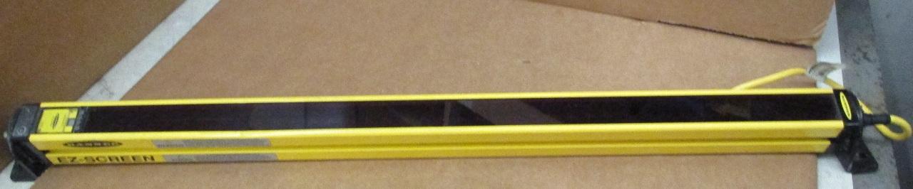 Banner Slsce30 600q8 Ez Screen Safety Light Curtain Emitter Infrared