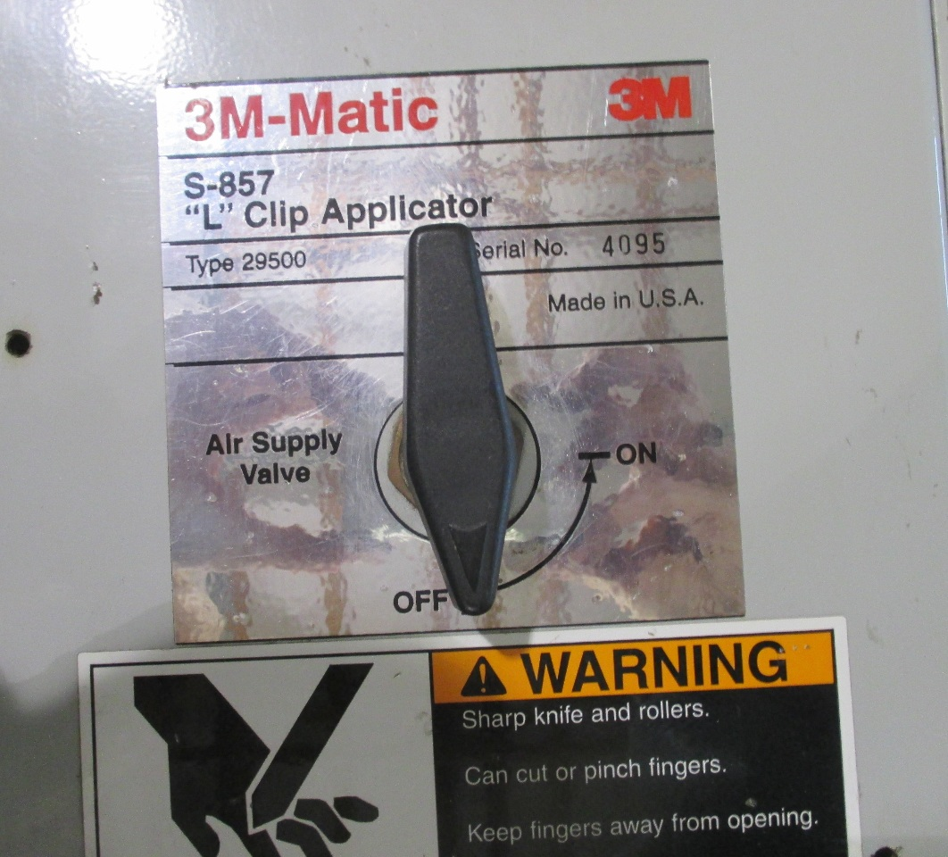 Dis M Matic S L Clip Tape Applicator on 3m Matic Parts
