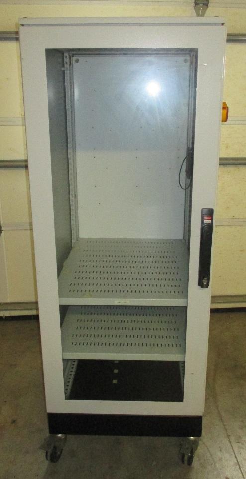 Hoffman Schroff Enclosure With Steel Framed Glass Door 2