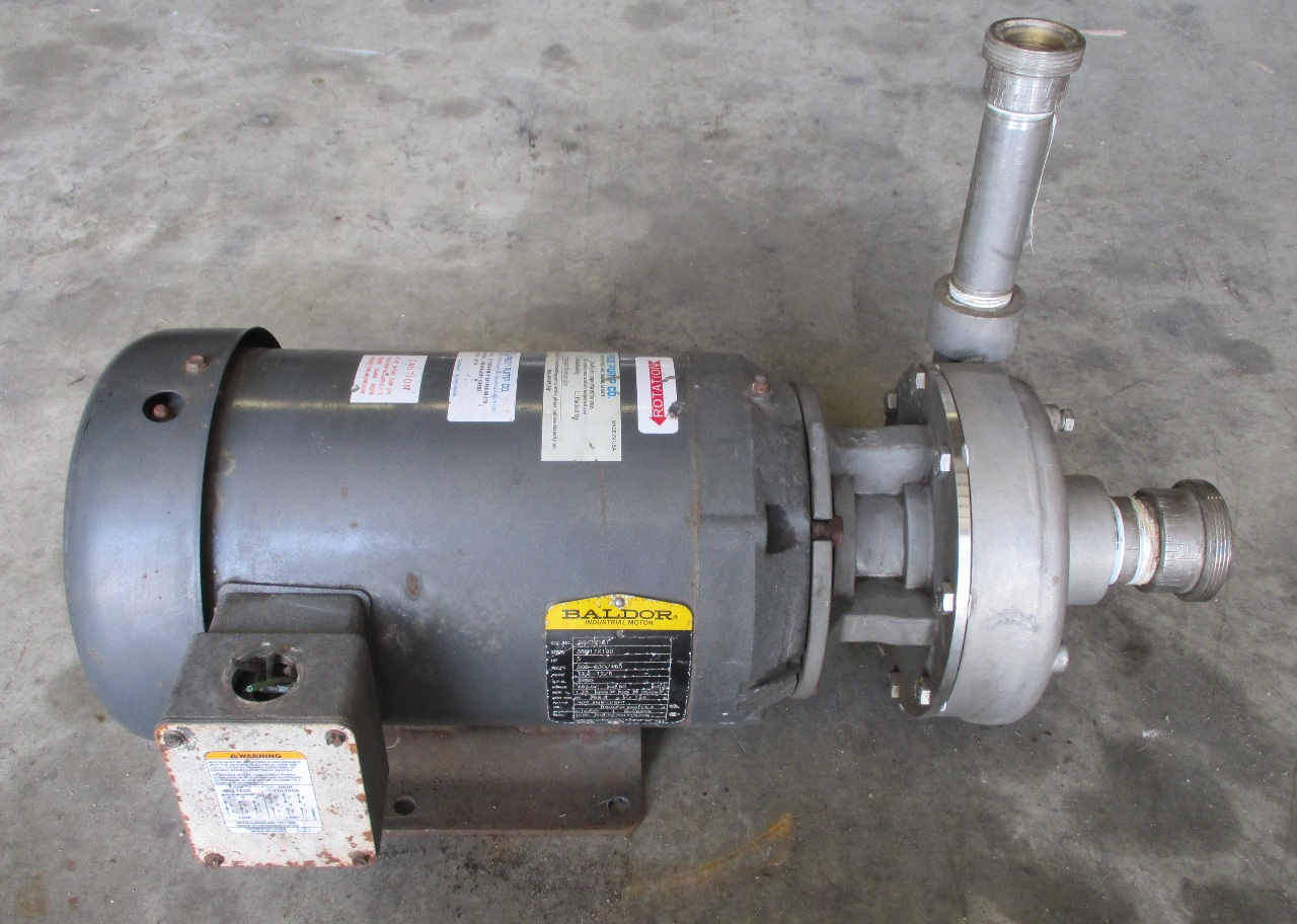 Baldor 5 Hp Motor Jmm3613t With Price Pump Co Stainless