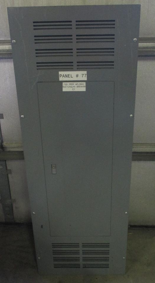 Square d nf442l4c ser e1 panelboard w enclosure 400 a 600y347 v sciox Images