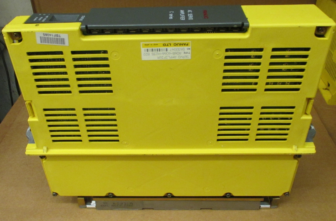 Fanuc Servo Amplifier Type A06b 6066 H235 C Series Daves