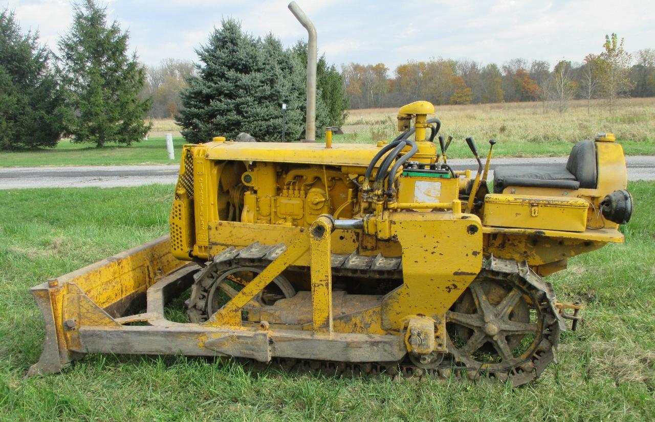 Lawn Tractor Dozer Tracks Conversion : Caterpillar d bulldozer ebay