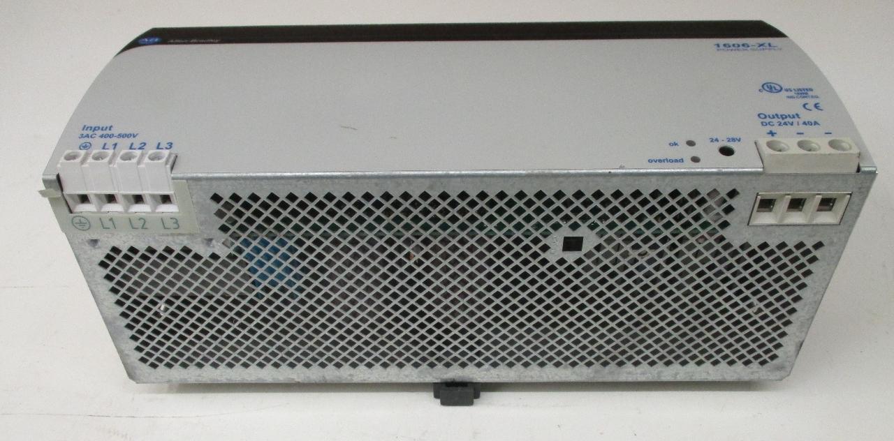 Allen Bradley 1606 Xl960e 3 Ser A Power Supply 24 28vdc