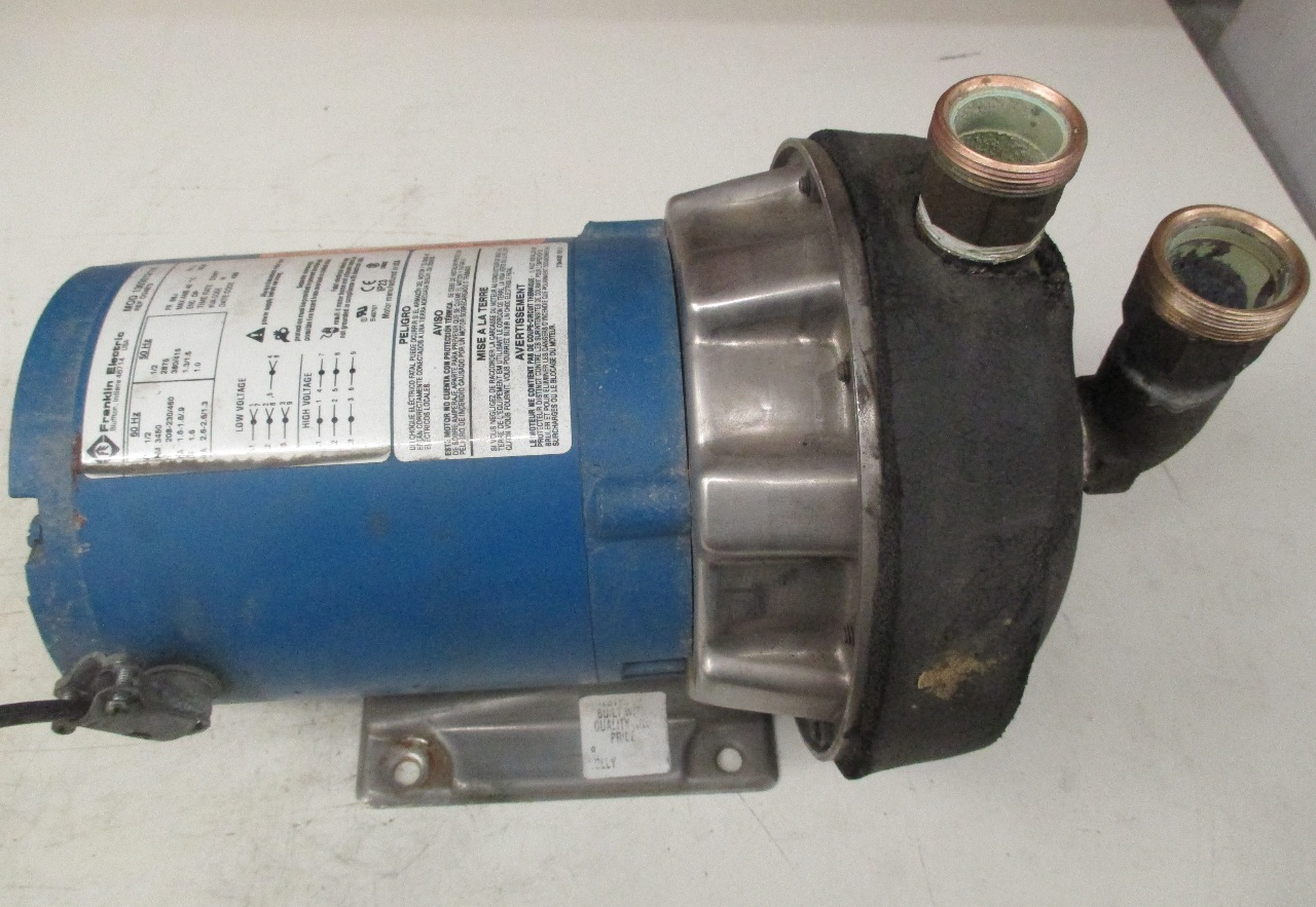 Franklin Electric 1 2hp Pump 1303012116 Daves Industrial