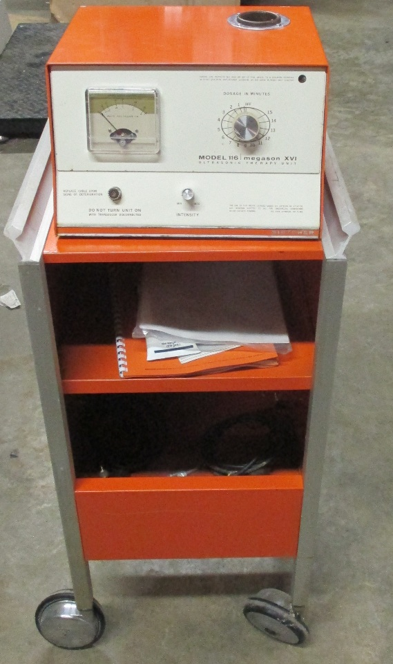 VINTAGE Birtcher model 116 Ultrasonic Therapy Unit untested W/ rack *can  ship just unit without rack* | Daves Industrial Surplus LLC