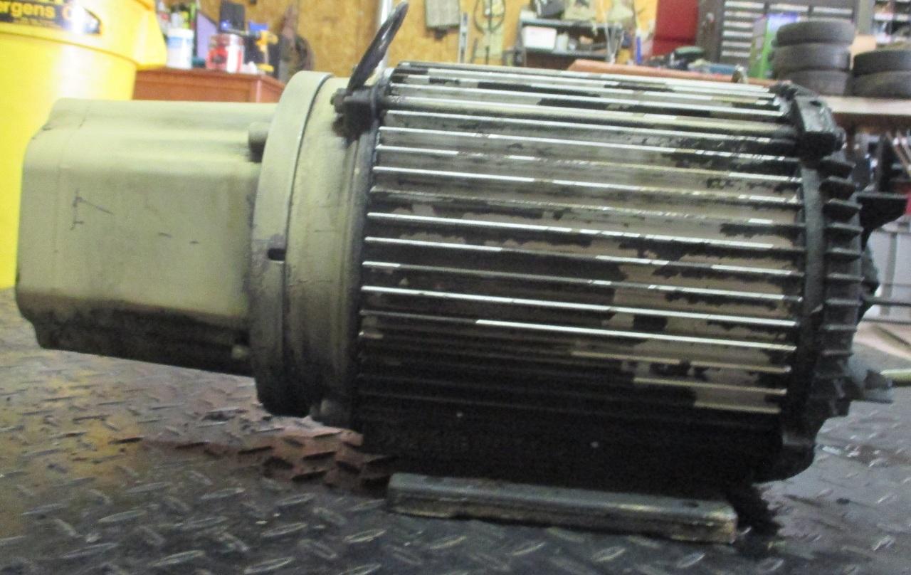 U S Electric Motors Model T763a Missing Fan Cover