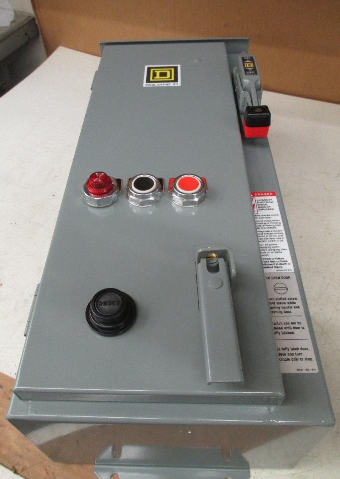 Square D Ac Combination Motor Starter 8538sca44v81aff4p1t