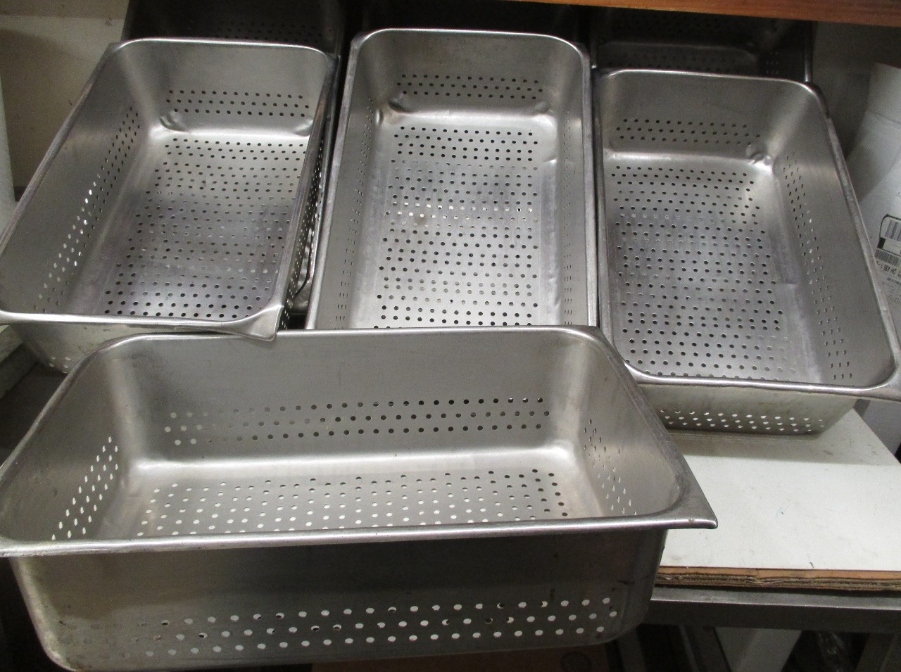 Stainless Steam Table Perforated Pan 20 Quot X 12 1 2 Quot X 6