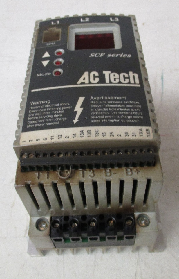 Ac Tech Sf205y Variable Speed Ac Motor Drive 0 5 Hp 208