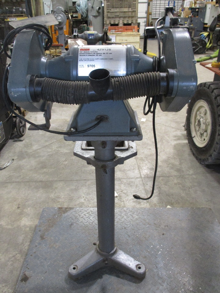 Dayton 10 Quot Bench Grinder With Stand Model 42912b 1 Hp Daves Industrial Surplus Llc