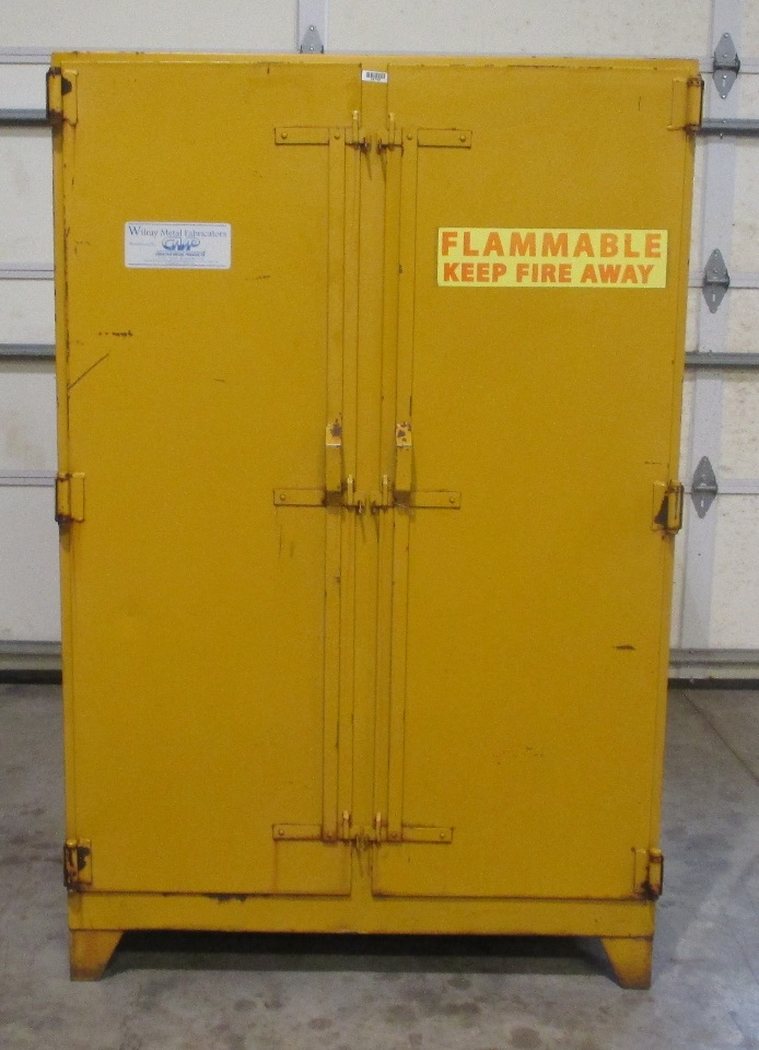 Wilray 90 Gal Flammable Storage Cabinet Model 150 56 S M
