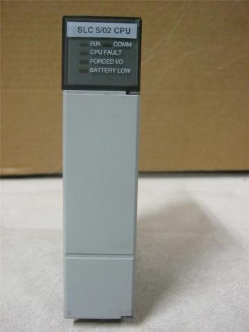 ALLEN BRADLEY SLC 500 1747-L524 Ser. C Processor FRN:7