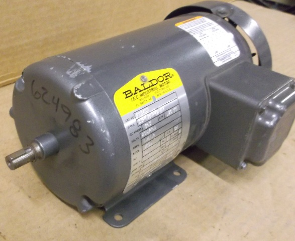 Baldor electric motor 3 phase 230 460 volt for Baldor industrial motor parts