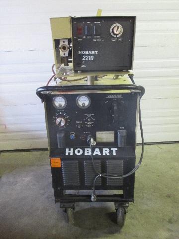 hobart rc 301 welder 300 amp with hobart 2210 wire feeder daves rh davesindustrialsurplus com Hobart FT 800 Wiring Diagram Lincoln SA 250 Welder Wiring Diagram