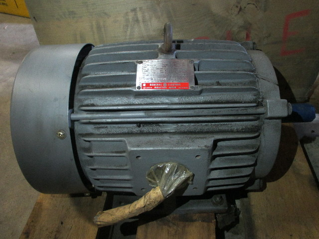 Ge general electric 10hp 1740 rpm induction motor model for Ge commercial motors 5kcp39fg
