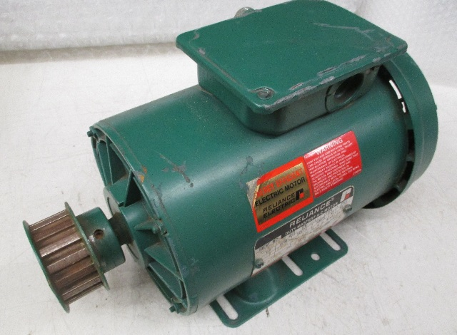 Reliance electric 2hp duty master a c motor p14h1401n nr for Duty master ac motor