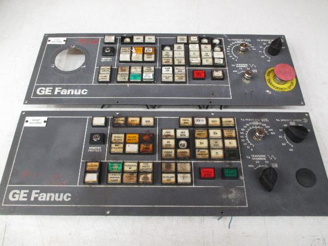 **Lot of 2**GE Fanuc Operator Panel 44C741056-G01R07 (For Parts or Repair)