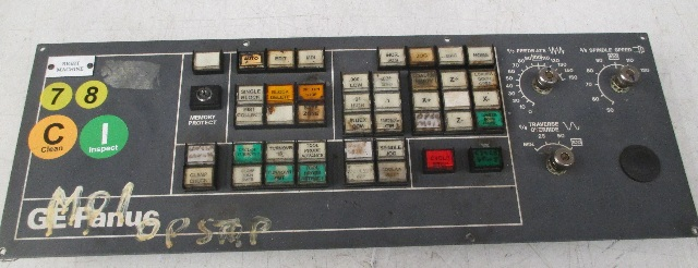 GE Fanuc Operator Panel 44C741056-G01R07 (For Parts or Repair)