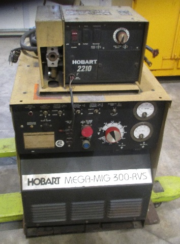 Hobart Wire Feed Welder | Hobart Mega Mig 300 Rvs Welder With Hobart 2210 Wire Feed Daves