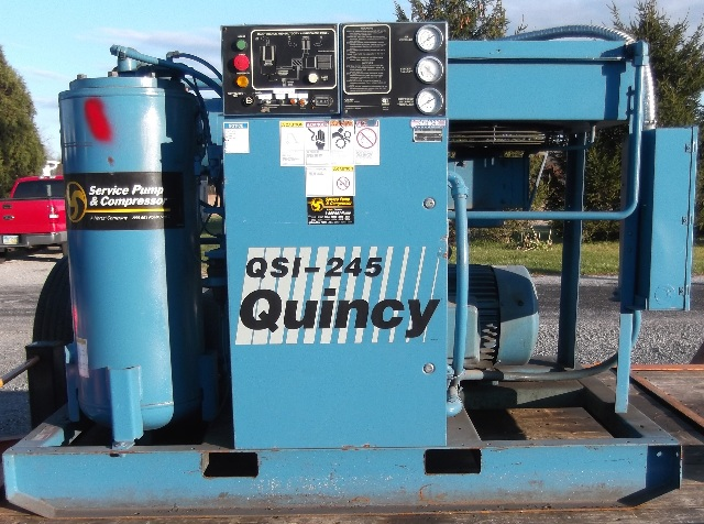 Quincy QSI 245ANA31C  Rotary Screw Air Compressor 50 HP