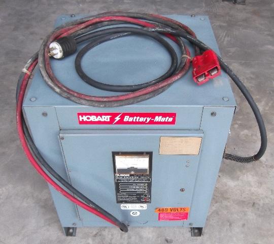 Hobart Batter-Mate 1050H3-12C 24V Forklift Battery Charger 208/240/480V 3 Phase