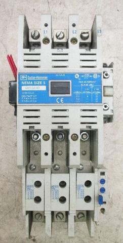 Cutler Hammer Nema Size 3 Starter AN16KNO