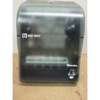 Bay West  Hands - Free Wave-N-Dry  Hand Towel Dispenser w/ Lock Key