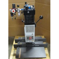 EPT Knee Lever Press Mod# 880-201 w/ Pneumatic support