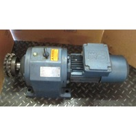 Sew EuroDrive R73DT80W4BN61NR Gear Motor Reducer