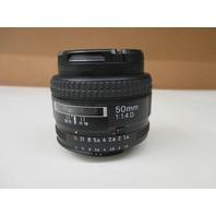 Nikon AF Nikkor 50mm 1:1.4D Lens
