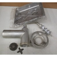 New Uniworld Meat Grinder Attachment for Hobart Mixer and Others, 812HCPL *missing push rod*