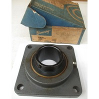 Browning VF4S-239 AH Air Handling Normal-Duty Flange Unit, 4 Bolt, Setscrew Lock